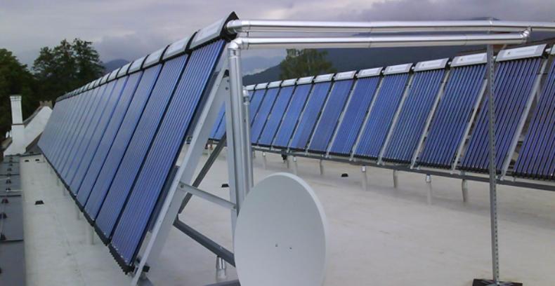 Автономная система солнечного отопления Sunrain