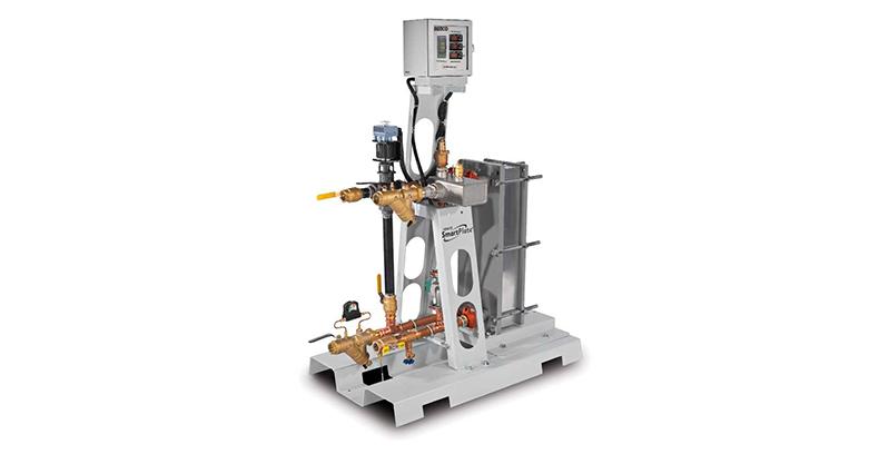 aerco водонагреватель c двухстеным пластинчато-рамным теплообменником SmartPlate