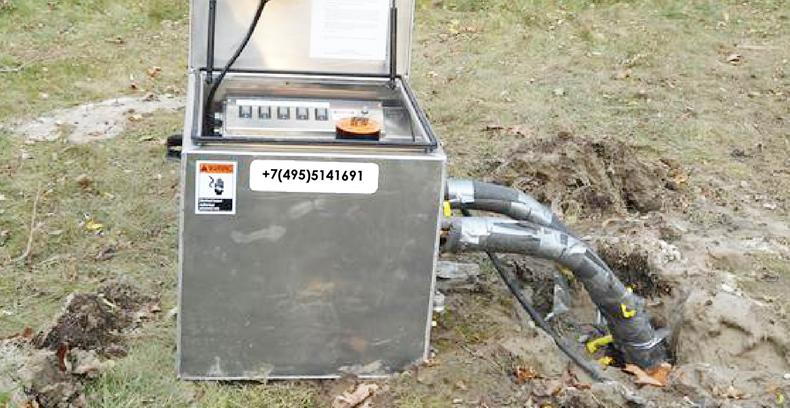 Тестирующее устройство GeoCube в полевых условиях
