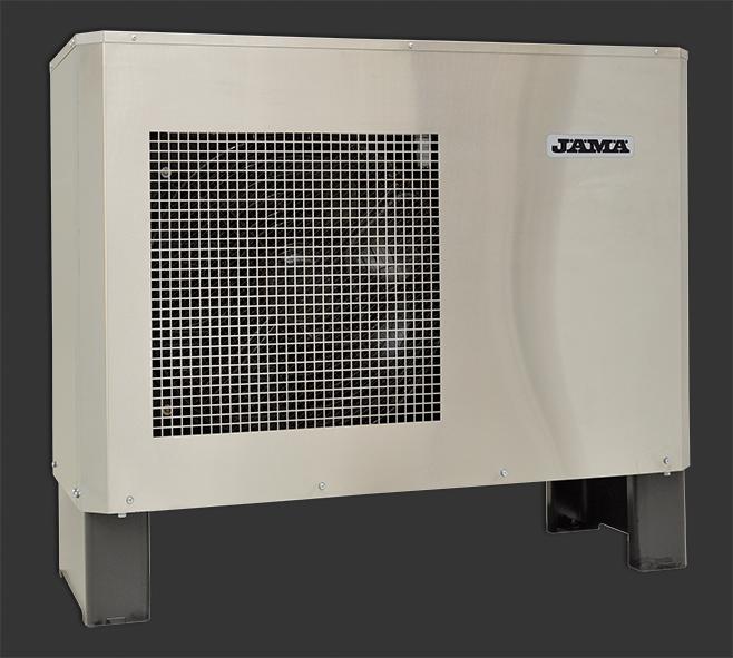 Jaspi тепловой насос воздух-вода Jama Moon внешний блок