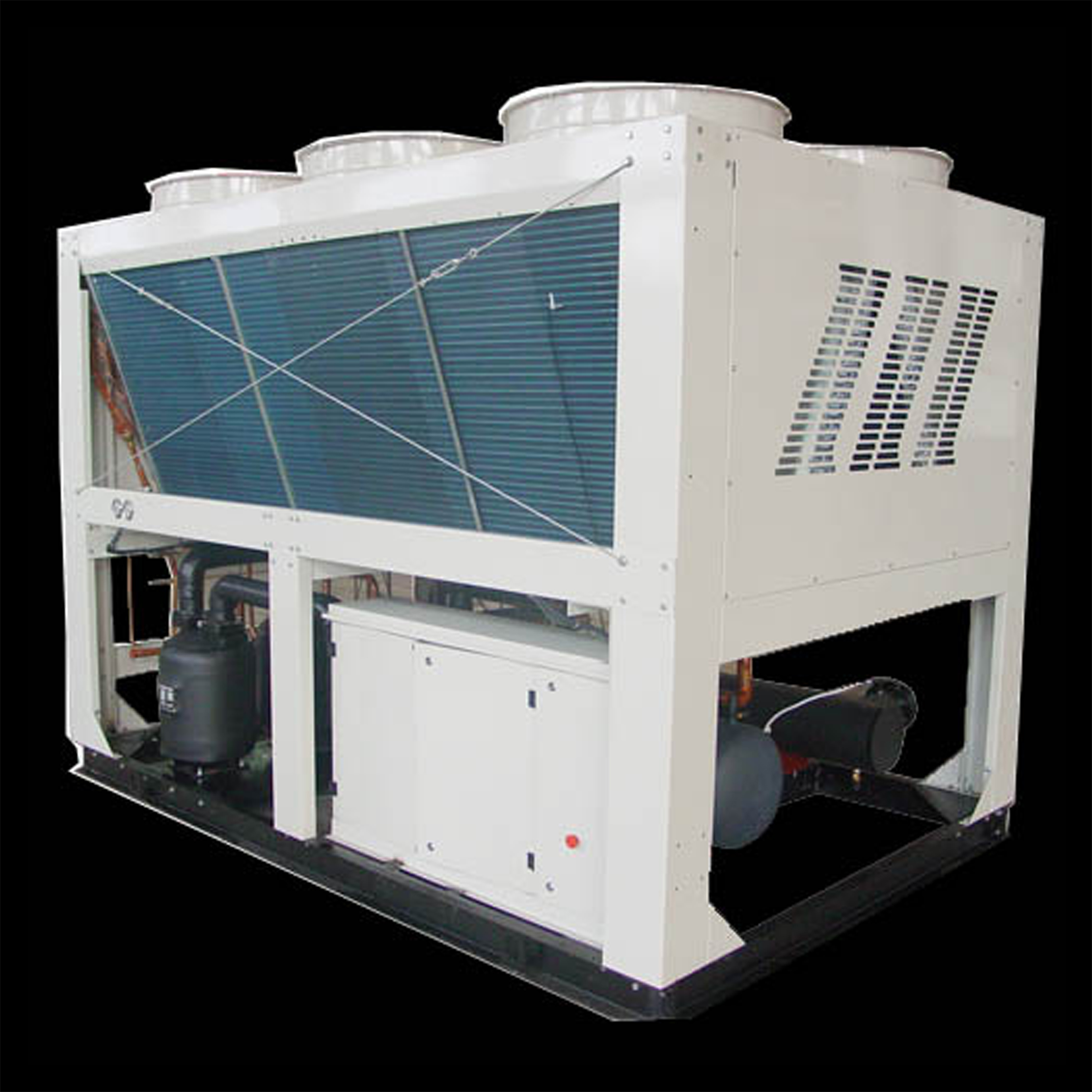 Air-Cooled Screw Chiller _ Heat Pump Units  Specification:070 090 110 130
